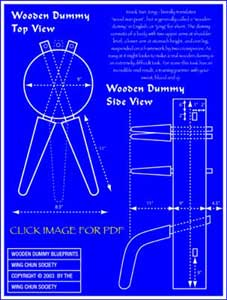 Free Wooden Dummy Blueprints! | Wing Chun Dummy
