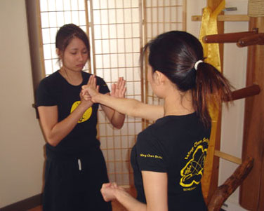 how to train wing chun at home