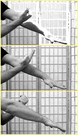 hand position