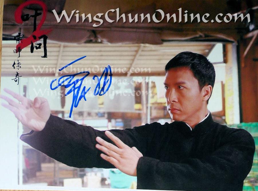 Donnie Yen Autograph